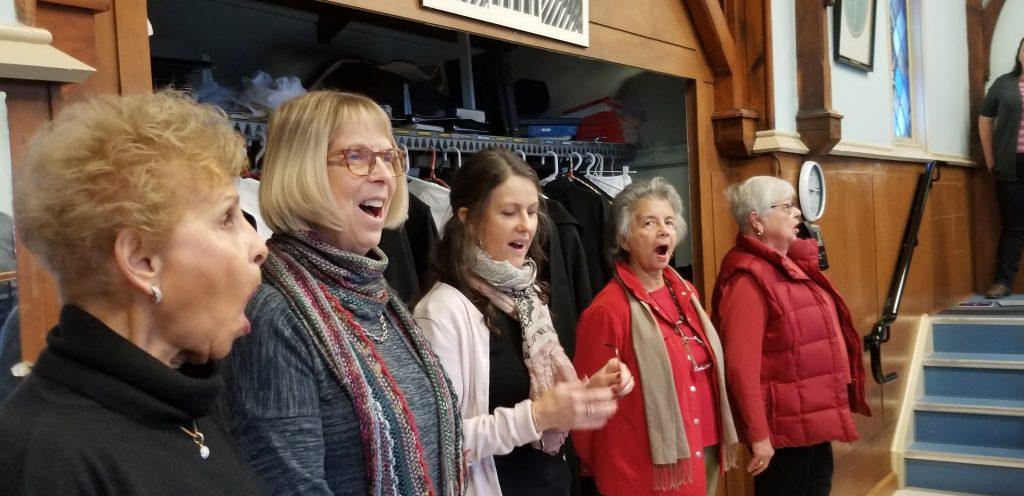 2019 Winter Concert Choir Warmup